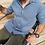 Thumbnail:  Chemise homme DIEGO colori bleu ciel