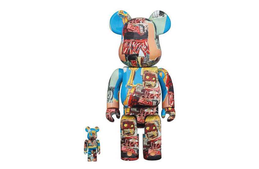 BE@RBRICK JEAN-MICHEL BASQUIAT《 #6 》 100% & 400%