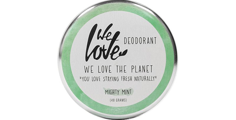"We love the Planet Deo Creme ""Mighty Mint"""
