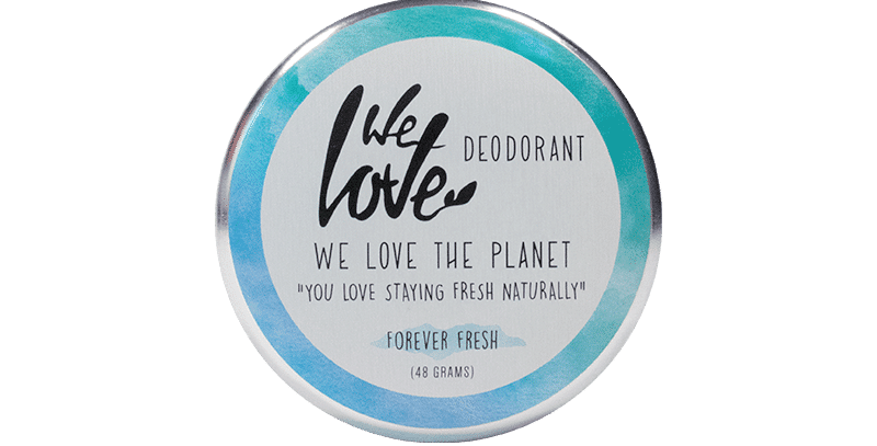 "We love the Planet Deo Creme ""Forever Fresh"""