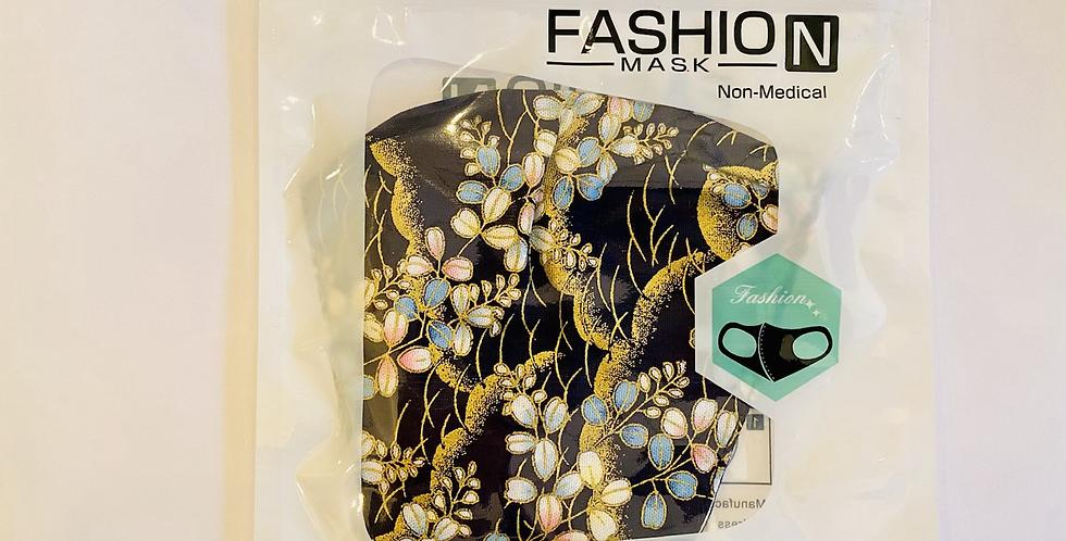 Mund-/ Nasenschutzmaske florales Muster