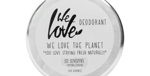 "We love The Planet Deo Creme ""so sensitive"""