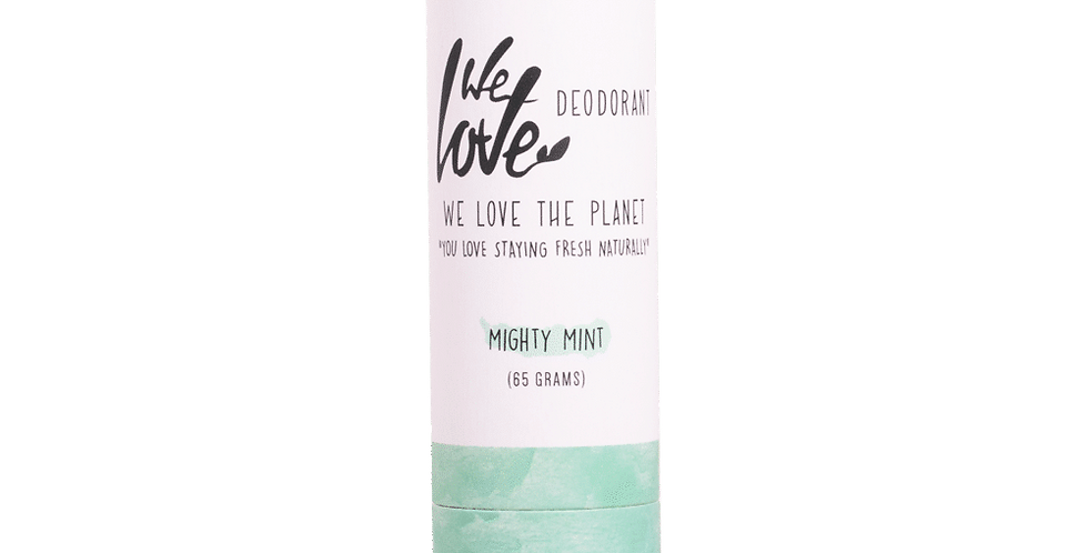 "We love the Planet Deo ""Mighty Mint"""