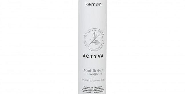 Kemon Actyva Equilibrio Shampoo Fettiges Haar