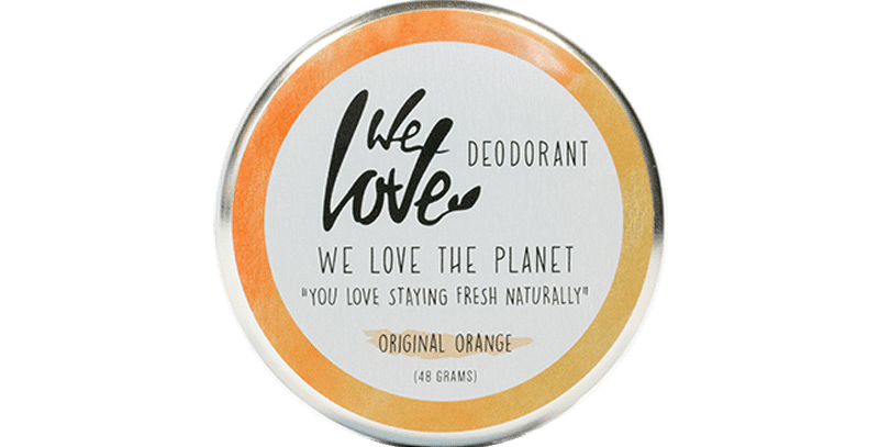 "We love the Planet Deo ""Original Orange"""