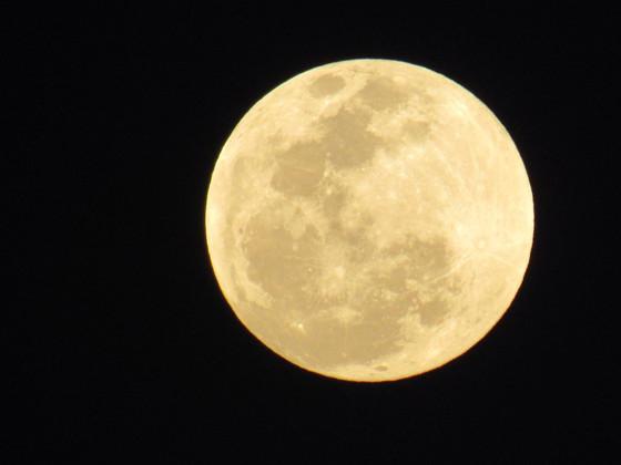 "Tuesday's full moon, dubbed ""Super Snow Moon"""