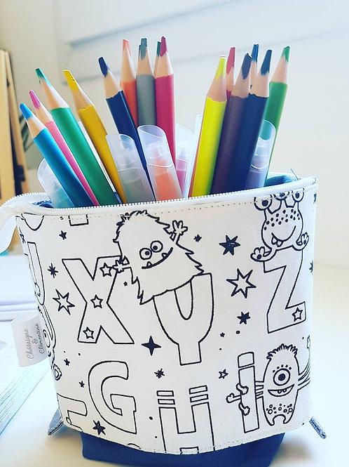Trousse pot de crayons.