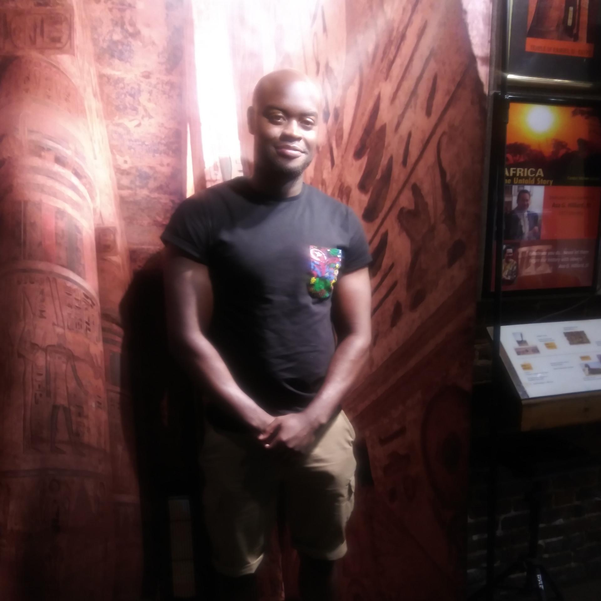Visitor from London, England, Malelhi Abubaka