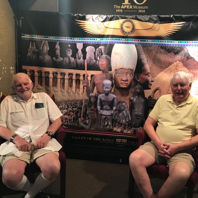 Visitors from United Blackpool, United Kingdom, Richard Biddy and L Malcolm