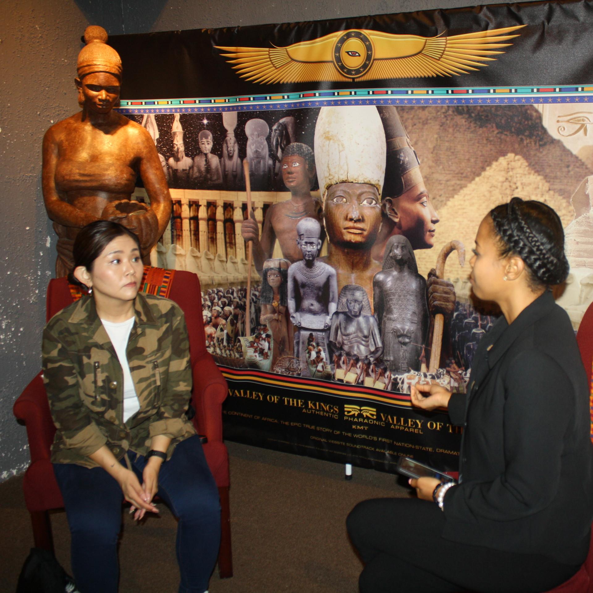 Visitor from Tokyo, Japan, Akiko Uegami, Hip-Hop Journalist