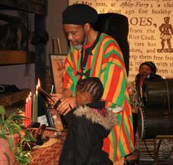 Kwanza Candle Lighting Ceremony