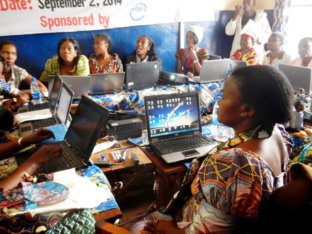 Intel sponsored Training at Bukavu Center 3