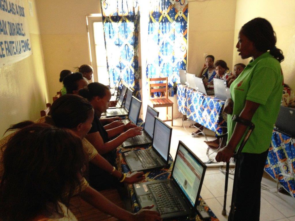 Neema training at MSC Bukavu