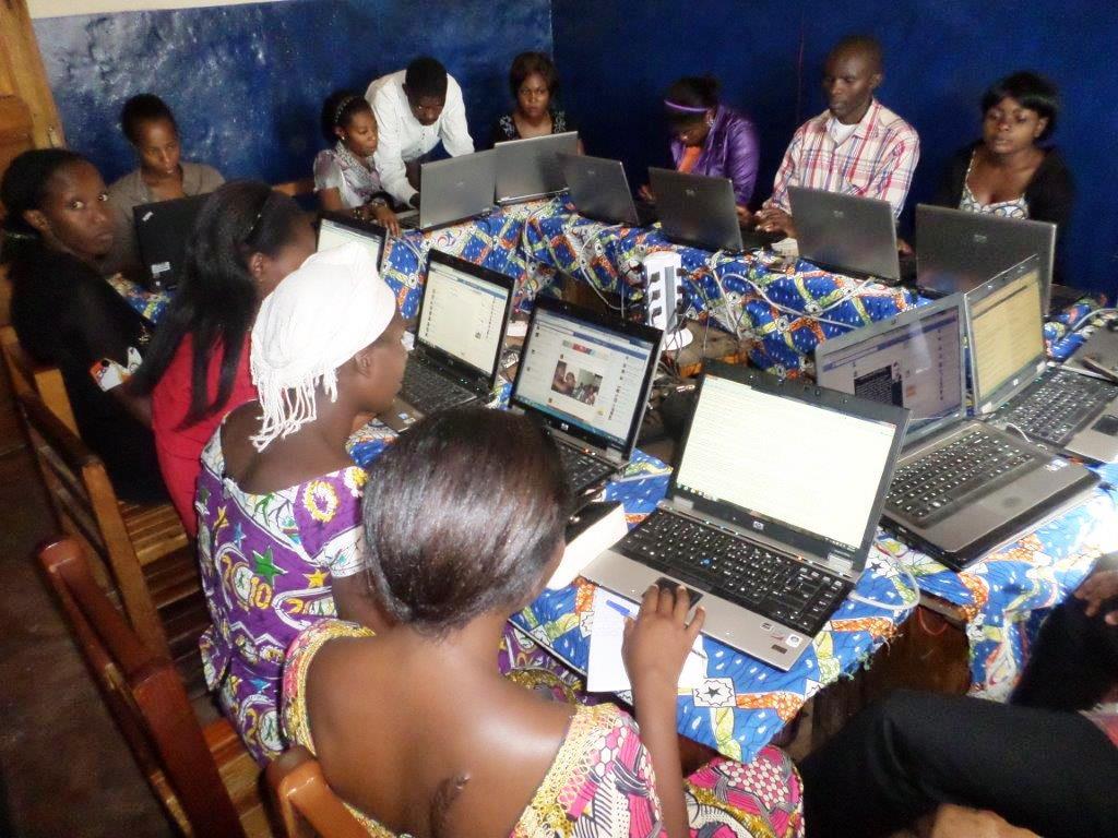 Maman Shujaa Online at MSC Bukavu