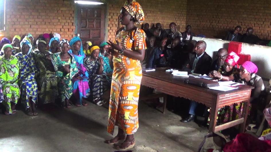 Masoka Tulambo (Itombwe) HIV training