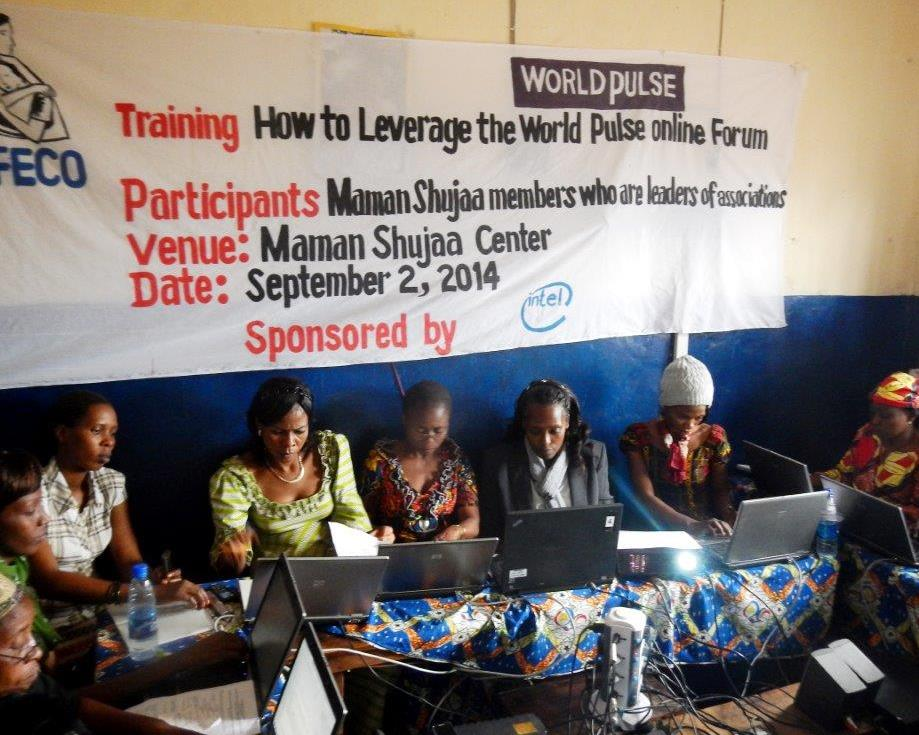 Intel sponsored Training at Bukavu Center 2