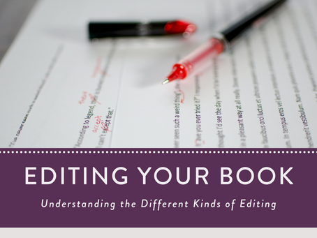 Understanding the Different Kinds of Editing