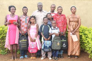 C'est aussi la rentrée scolaire pour les enfants d'OASIS D'AMOUR en Côte d'Ivoire et Haïti !