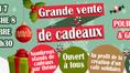 Grande vente de cadeaux pour les fêtes de fin d'année ! 🧡