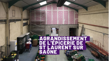 Agrandissement de l'épicerie sociale et solidaire Val de Saône