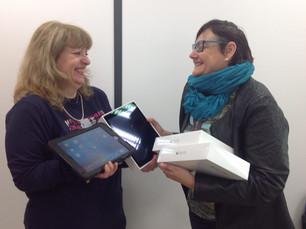 Oasis d'Amour remet des tablettes à l'IME Le Bouquet