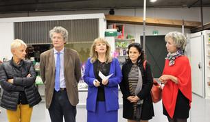 Retour en photos sur l'inauguration de l'épicerie de Gleizé.