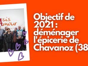 Nous espérons déménager l'épicerie sociale et solidaire de Chavanoz (38)