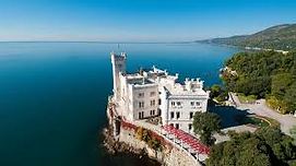 Trieste et château de Miramare