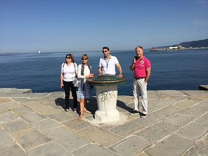 Trieste and Miramare castle