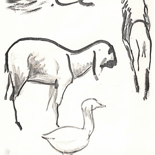 Lion, Goat and Goose