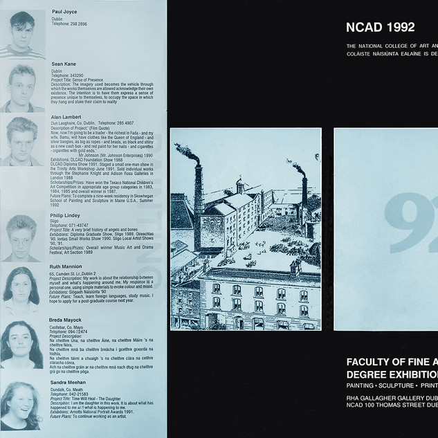 NCAD Graduation Catalogue