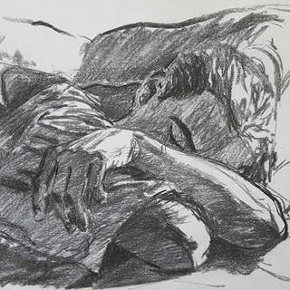 Martin Sleeping