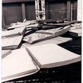 Book sculpture (detail)