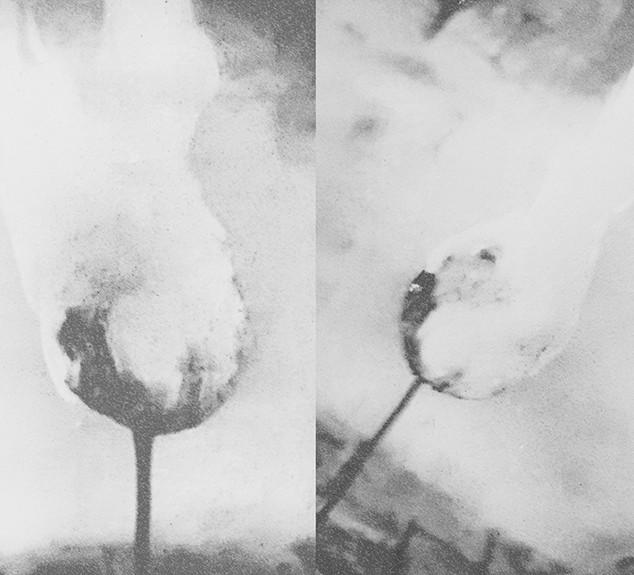Flaming sculptures No.1 (details)