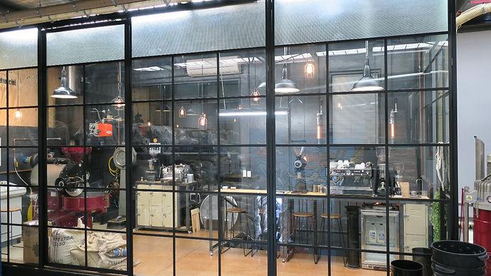 Equilibrio Espresso roasting and cupping room