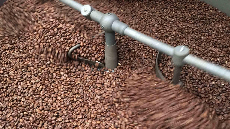 Freshly roasted specialty coffee
