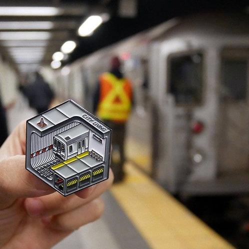 Subway Pin