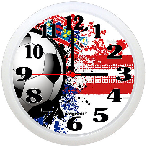 Croatia Football Wall Clock