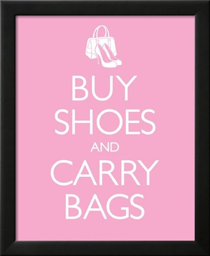 Buy Shoes and Carry Bags Wall Art