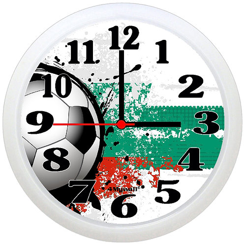 Bulgaria Football Wall Clock