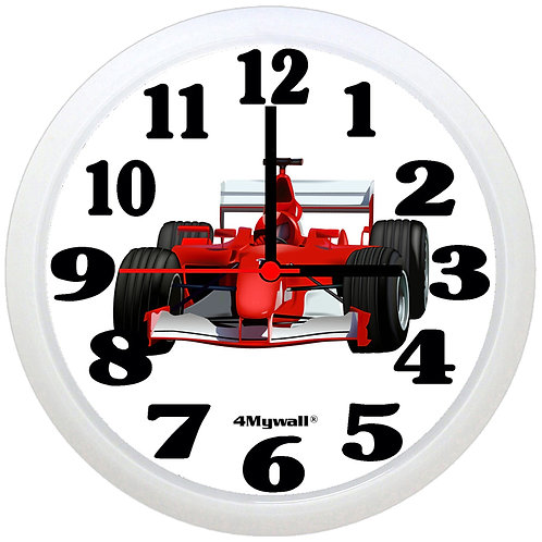 Formula One Wall Clock