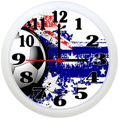 Australia football wall clock