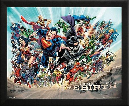 DC Universe Rebirth Wall Art