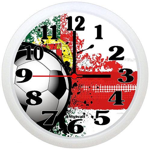 Portugal Football Wall Clock