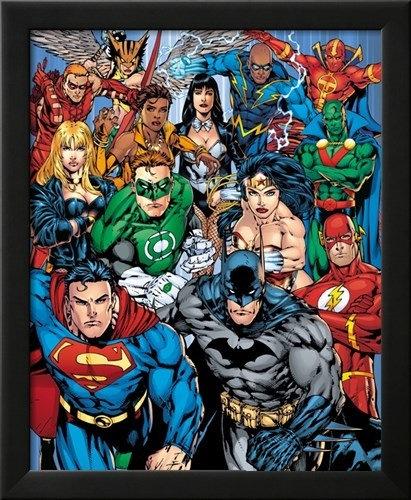 DC Comics Cast Wall Art