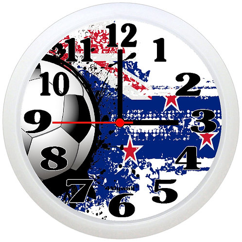 New Zealand Football Wall Clock