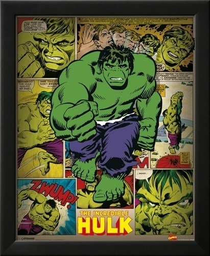 Incredible Hulk Wall Art
