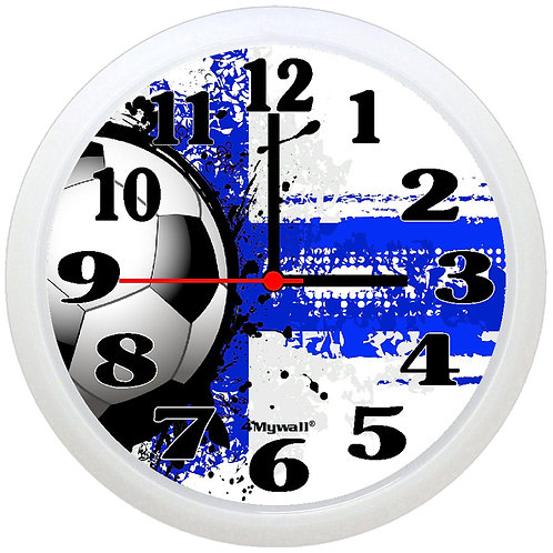 Finland Football Wall Clock