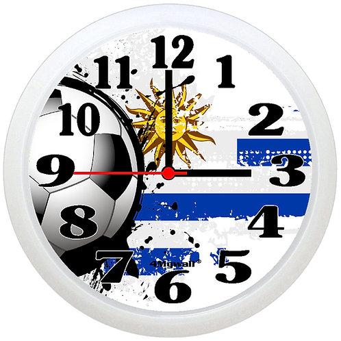 Uruguay Football Wall Clock