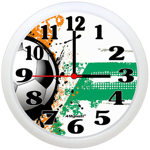 Ivory Coast Football Wall Clock